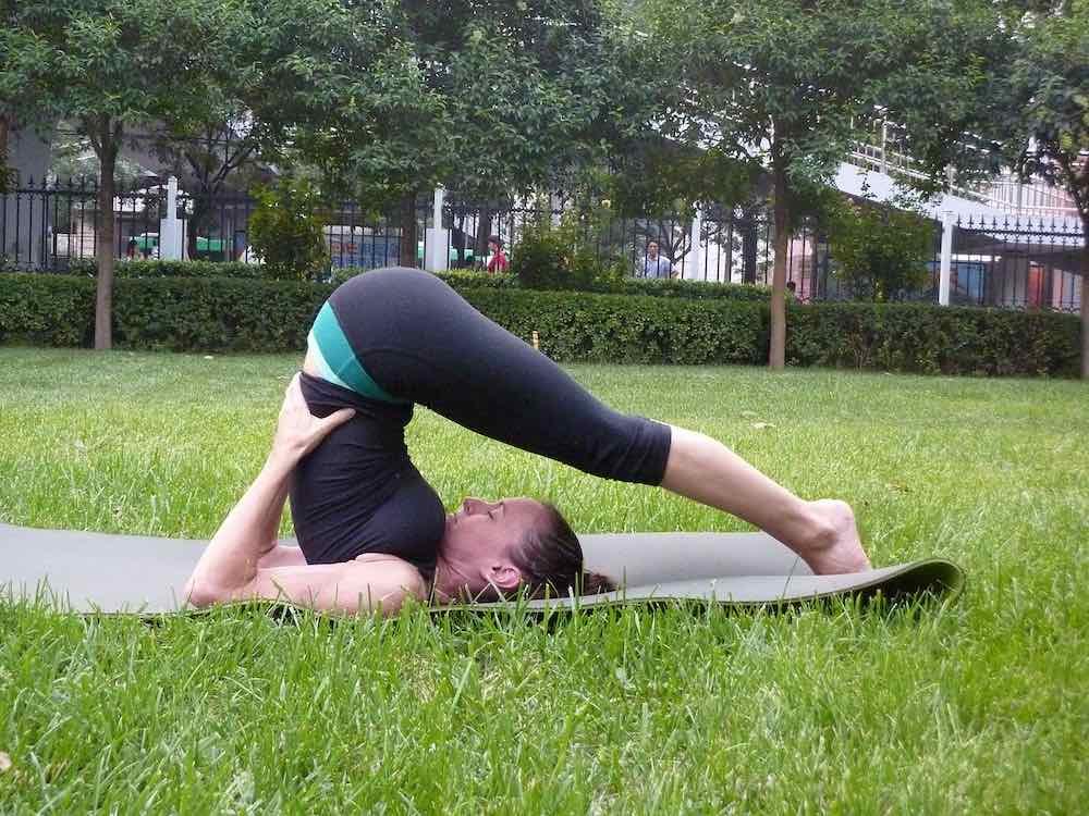 Yoga en pleine nature